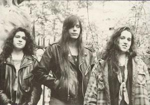 Shrieking Violets band photo
